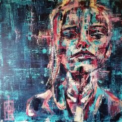 Number Girl 70x70